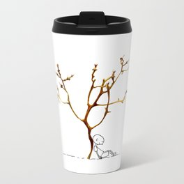 Grape tree Metal Travel Mug