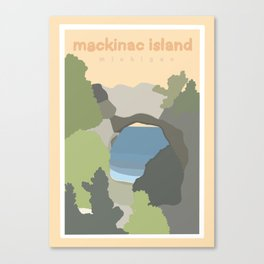 Mackinac Island Michigan  Canvas Print