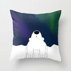 Northern Lights Throw Pillow