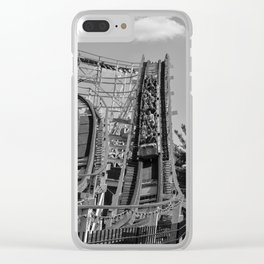 RollerCoaster Thunderbolt Clear iPhone Case