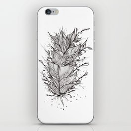 Mystic Feather iPhone Skin