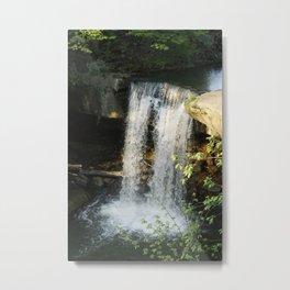 The Falls In Cascade Park Metal Print