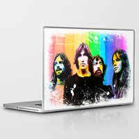 floyd Laptop & iPad Skins featuring pink floyd 02 by manish mansinh