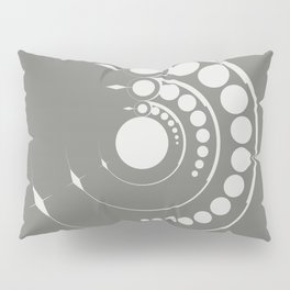 alien crop formation, sacred geometry Pillow Sham