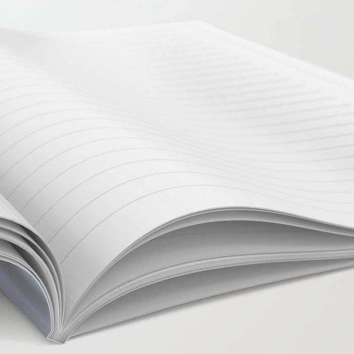 Abstract modern wavy background, elegant wave illustration Notebook