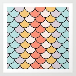 Color Twist Art Print