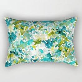 Local Color (Teal) Rectangular Pillow