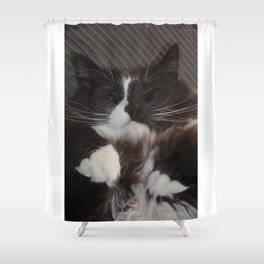 Kush Cat Shower Curtain