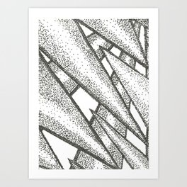Pointilism Art Print