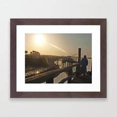 Dock Framed Art Print