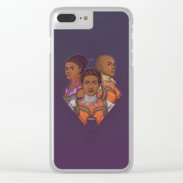 Wakanda Women Clear iPhone Case