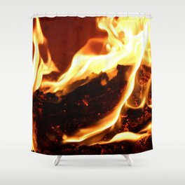 Feel the Heat Shower Curtain