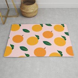 Oranges or Peaches? Rug