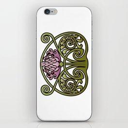 Nouveau Thistle iPhone Skin