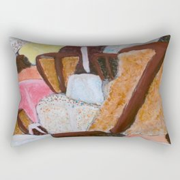 Let Them Eat Cake Rectangular Pillow