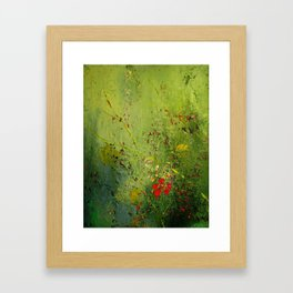 Summer's Last Flower Framed Art Print