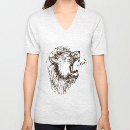 Lion's Roar Unisex V-Neck