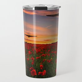 Poppy Vulcans Travel Mug