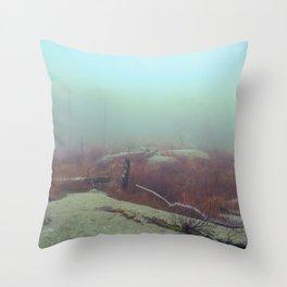 HIGHLAND FOG Throw Pillow