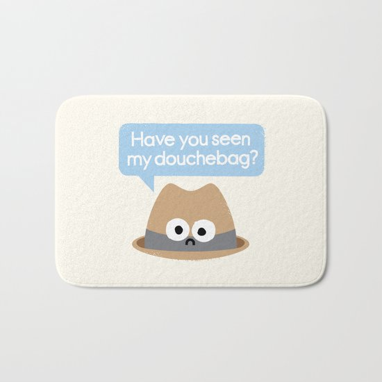 Missing Person Bath Mat