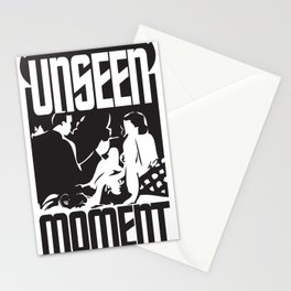 UNSEEN MOMENTS Stationery Cards