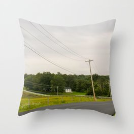 Farm Country Throw Pillow