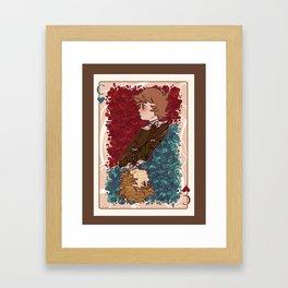 The Chihiro of Hearts Framed Art Print