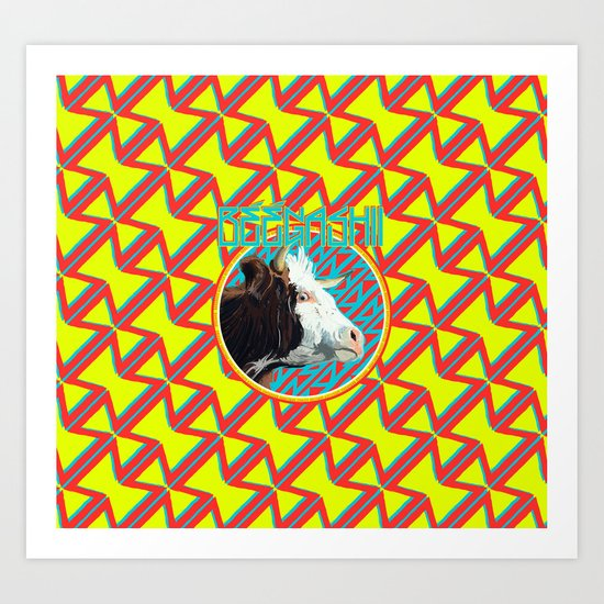 Beegashii Art Print