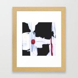Between a Bullet and a Target Framed Art Print