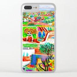 Espanola Clear iPhone Case