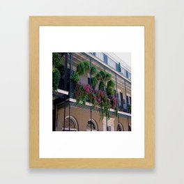 New Orleans Florals Framed Art Print