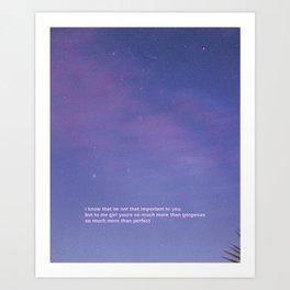 Star Shopping - Lil peep Art Print