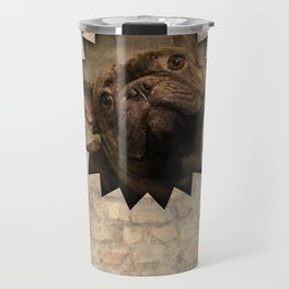 bully on the wall Travel Mug