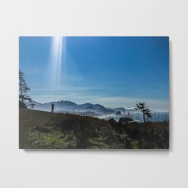 Abduction by Nature Metal Print