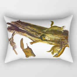Flying Squirrel Vintage Hand Drawn Illustration Rectangular Pillow