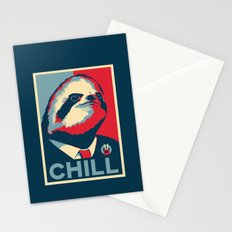 Vote Sloth Stationery Cards