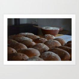 The Daily Bread Art Print