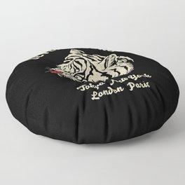 Seven Tigers Floor Pillow