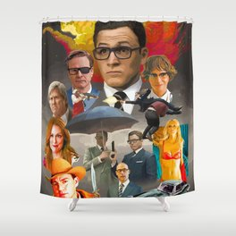 Kingsman: The Golden Circle Shower Curtain