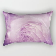 Vintage Ranunculus Rectangular Pillow