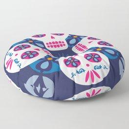 Talavera Blue Floor Pillow