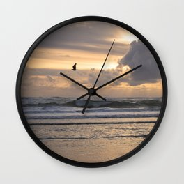 Heavens Rejoice Wall Clock