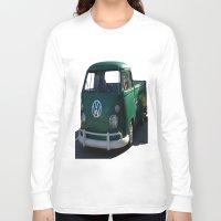 vw Long Sleeve T-shirts featuring VW GRUNGE by Joedunnz
