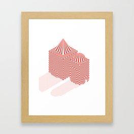 Patterned 5B Framed Art Print