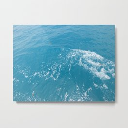 Calm Ocean Waves Metal Print