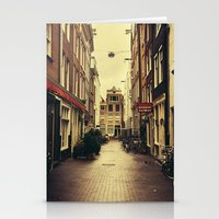 amsterdam Stationery Cards featuring Amsterdam by Pati Designs