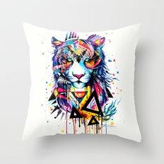 -Tiger - Throw Pillow