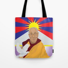 His Holiness Tote Bag