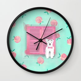 Schnauzer the Bohémien Wall Clock