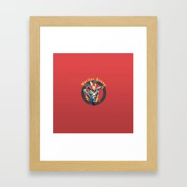 Warrior Bunny Nukem Framed Art Print